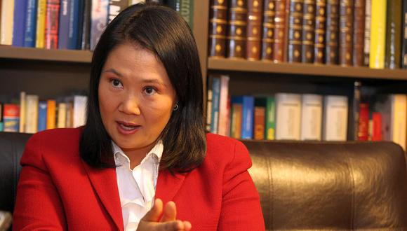 Keiko Fujimori cumple 18 meses de prisión preventiva mientras se le investiga por lavado de activos. (Foto: EFE)