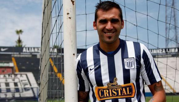Pablo Míguez quiere anotar y bailar ante Cristal. (USI)