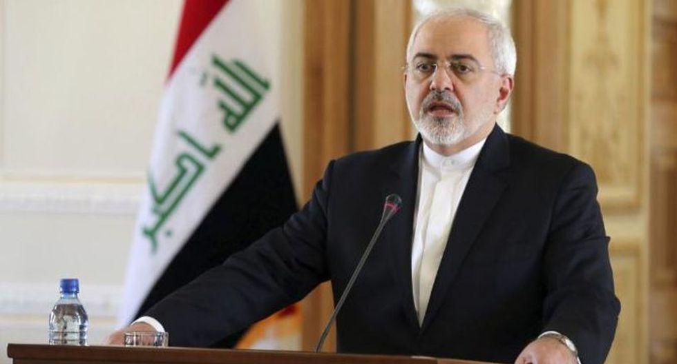 El ministro de Asuntos Exteriores de la República Islámica de Irán, Mohamad Yavad Zarif, rechazó las intenciones del presidente de Estados Unidos. (Foto: EFE)