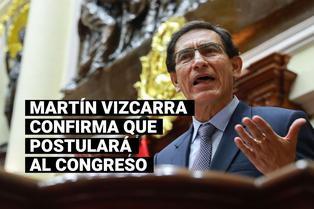 """Martín Vizcarra: """"Encabezaré la lista de candidatos al Congreso por Somos Perú"""""""