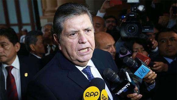 Como se recuerda, el expresidente Alan García solicitó asilo político a la embajada de Uruguay. (Foto: Agencia Andina)