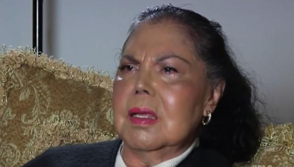 Queta Jiménez fue hermana menor de la también cantante y actriz Flor Silvestre (Foto: Captura de Youtube)