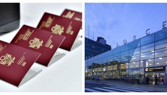 Oficina de Migraciones en el aeropuerto Jorge Chávez expide el pasaporte electrónico para casos de emergencia. (Foto: GEC)
