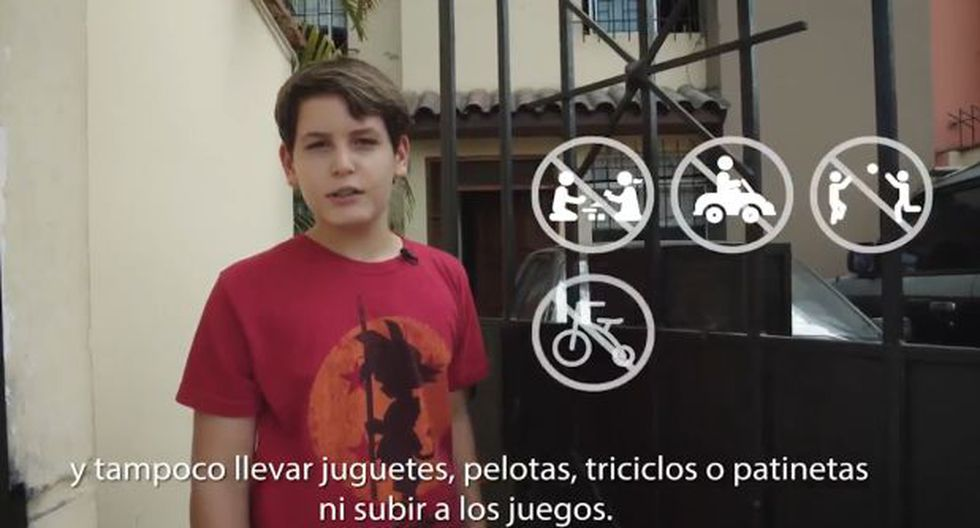Minsa presenta normas sanitarias para paseos de menores de 14 años. (gobierno)