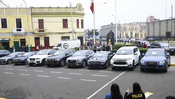 Veloces y costosos. Policía ha recuperado 12 de 63 vehículos de alta gama robados este año.