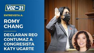 """Romy Chang: """"PNP está obligada a capturar a Congresista Katy Ugarte"""""""