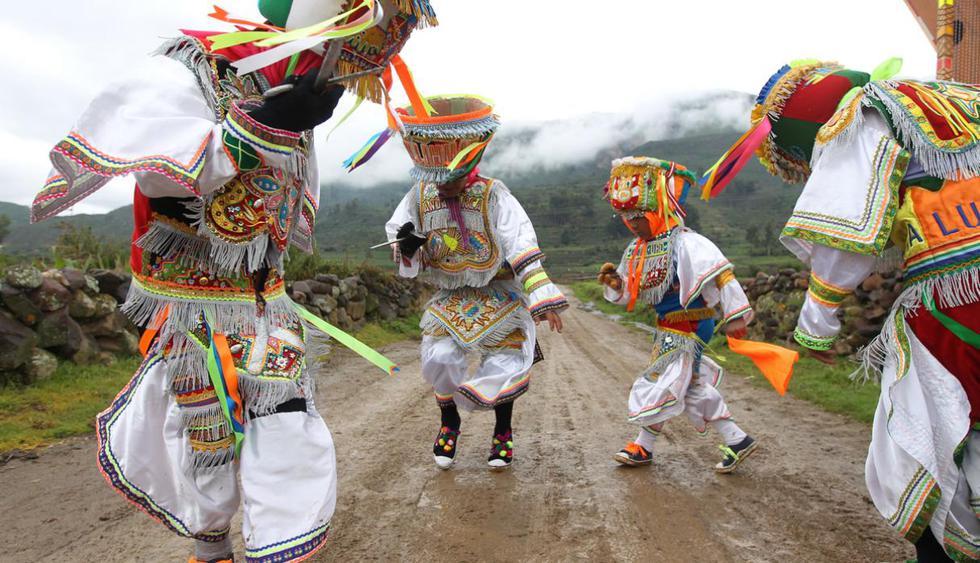 El Congreso de la República ha declarado oficialmente el día 16 de noviembre de cada año, como el 'Día Nacional de la Danza de las Tijeras'. (USI)