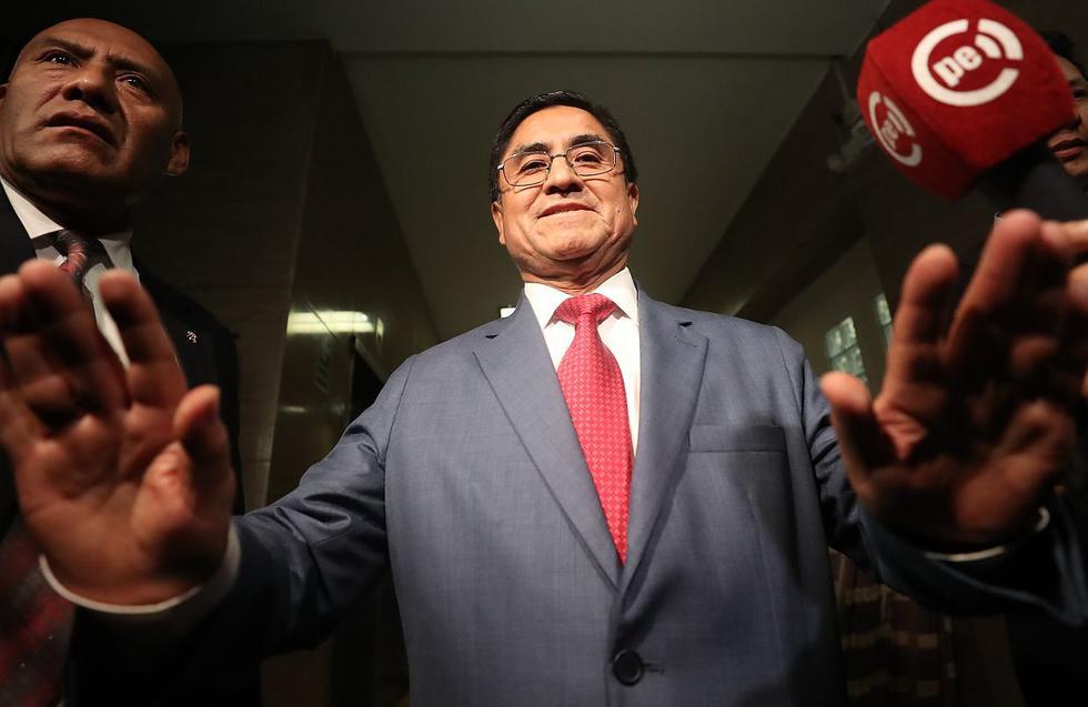 El juez supremo César Hinostroza fue uno de los denunciados por el fiscal de la Nación, Pedro Chávarry. (Foto: USI)