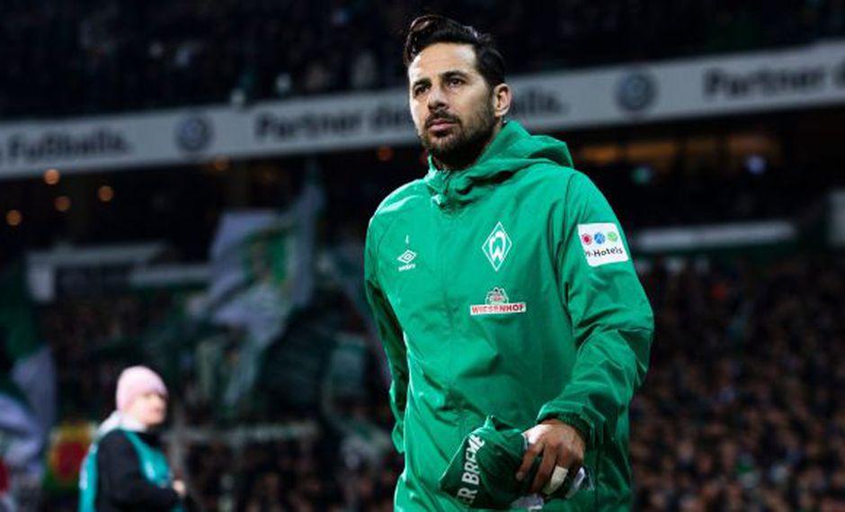 Claudio Pizarro jugará la temporada 2019-20 por Werder Bremen. (Foto: Werder Bremen)