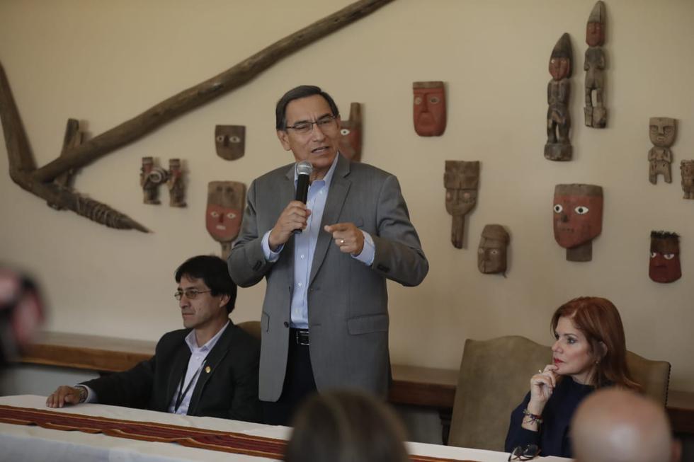 """Vizcarra en Cusco: """"El aeropuerto de Chinchero no es una improvisación, hay estudios desde hace 15 años"""""""