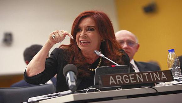 Fernández de Kirchner en el Comité de Descolonización de la ONU. (Reuters)