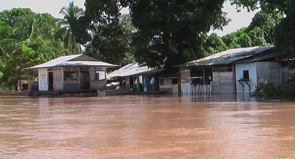 Casas quedaron inundadas. (Diario Ahora)