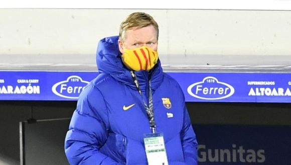 Barcelona lleva ocho partidos sin derrotas bajo las órdenes de Koeman. (Foto: AFP)