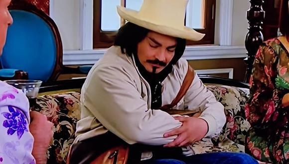 La reacción de Oliverio Mayta cuando Malena le pregunta sobre Felícitas. Él no aguanta el dolor (Foto: América TV)