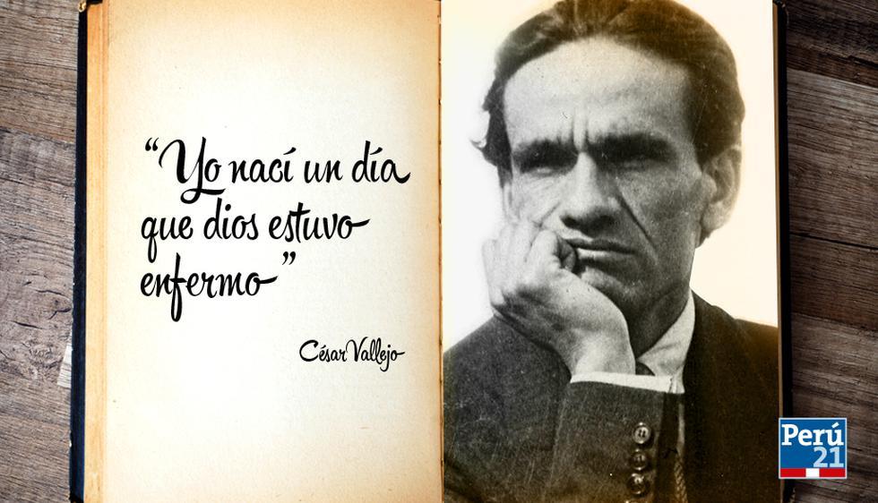 César Vallejo: 15 frases del gran poeta peruano. (Perú21)