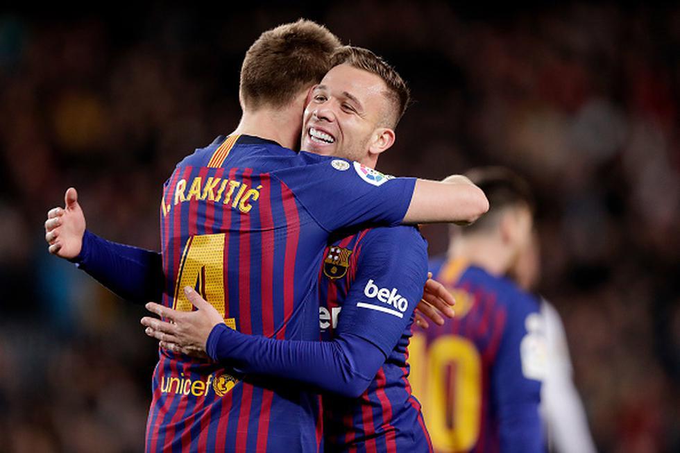 Arthur Melo es jugador de Barcelona desde el inicio de la temporada 2018-19. (Getty)