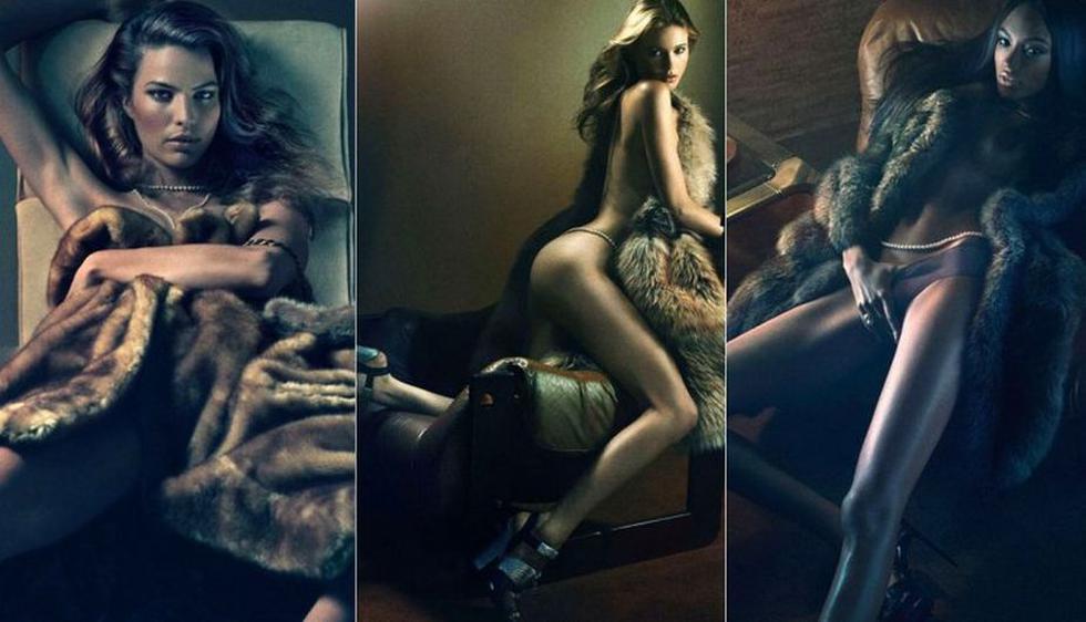 La revista Interview convocó a las modelos internacionales más populares del momento.