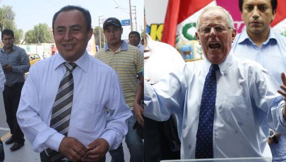 Gregorio Santos rechaza visita de PPK. (Perú21)