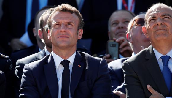Macron viajará a la ciudad occidental de Osaka para asistir a la cumbre del G20 que tendrá lugar los días 28 y 29. (Foto: EFE)