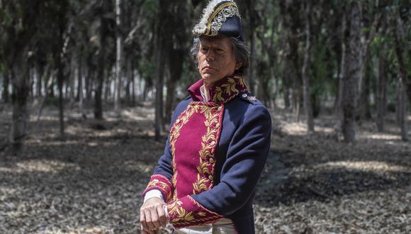 José Luis Ruiz es Mateo Pumacahua en la nueva serie 'Los otros libertadores'. (Fotos: César Campos)