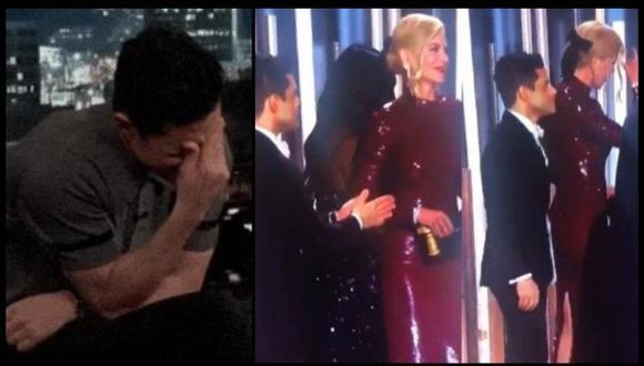 El actor Rami Malek aseguró que no sabía de la existencia de esas imágenes. (Foto: Captura)