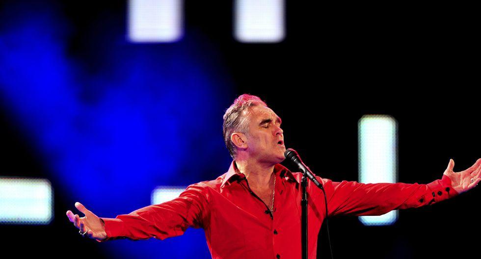 Morrisey detuvo concierto luego de ser agredido por un fan. (Foto: EFE)