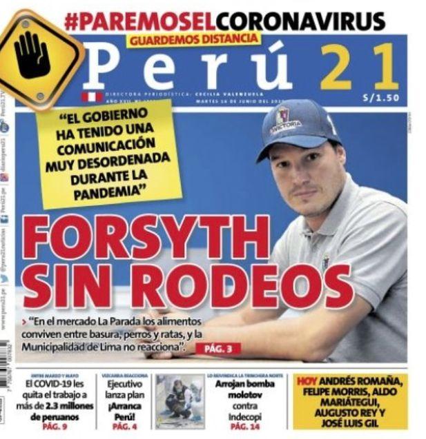 Forsyth sin rodeos