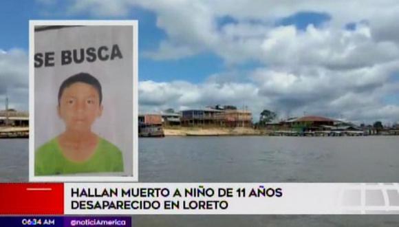 La Policía Nacional intervino a dos sospechosos. (Foto: Captura/América Noticias)