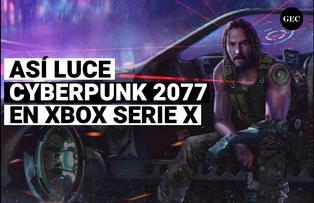 Así luce Cyberpunk 2077 en Xbox serie X
