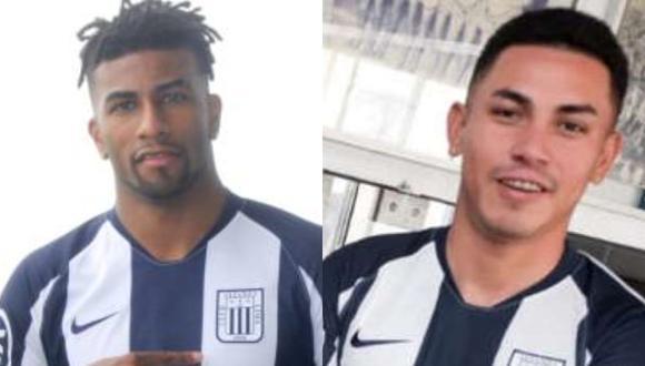 Carlos Ascues y Jean Deza fueron fichados esta por Alianza Lima esta temporada. (GEC)