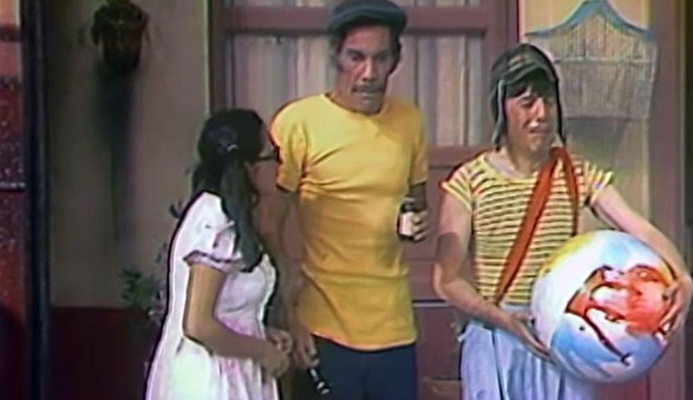 El Chavo del 8 estrenó su primer capítulo con tres personajes. (Foto: Televisa)