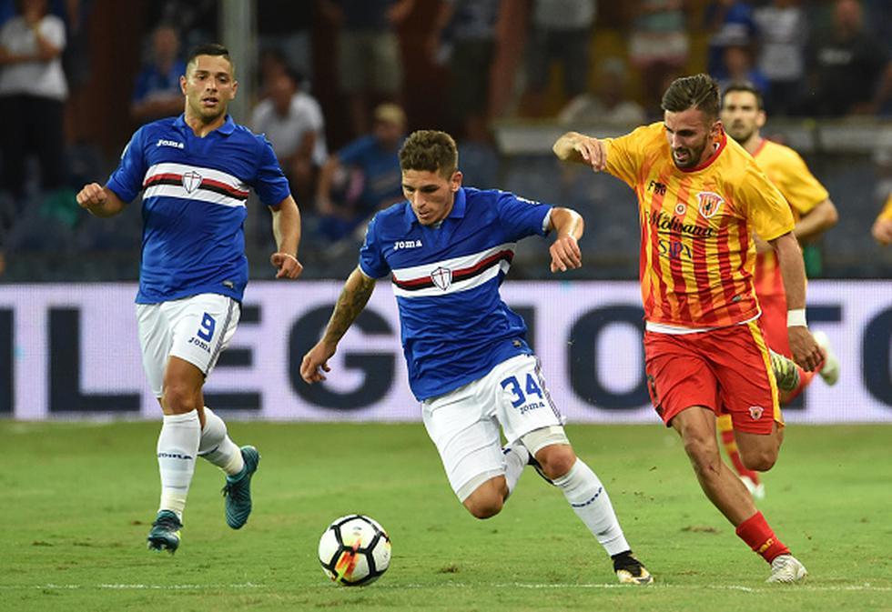 El camino de la tragedia empezó el 20 de agosto de este año en la primera fecha del Calcio (Serie A). Benevento enfrentó de visita a la Sampdoria y cayó 2 a 1. (Getty Images)