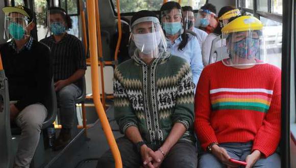 Coronavirus en Perú: 800 mil protectores faciales serán entregados en región Arequipa (Foto referencial).