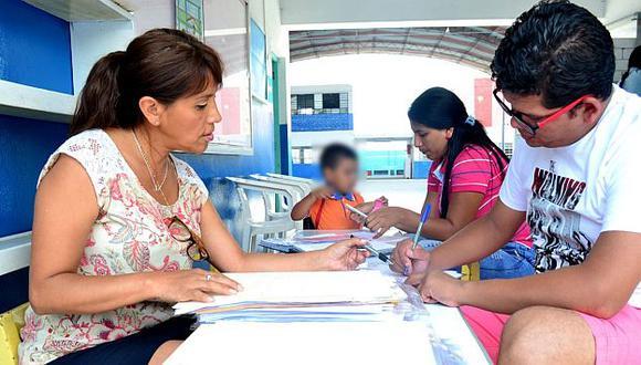 Indecopi recuerda que colegios privados solo pueden cobrar cuota de ingreso, matrícula y pensiones. (USI)
