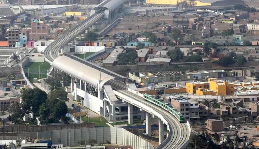 Línea 1 del Metro de Lima recorre 8 distritos limeños. (USI)