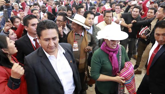 Incertidumbre en la izquierda ante posible alianza de Vladimir Cerrón y Verónika Mendoza. (Foto: GEC)