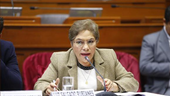 """Luz Salgado se mostró preocupada por """"irregularidades"""" en el caso de Keiko Fujimori. (Foto: Congreso)"""