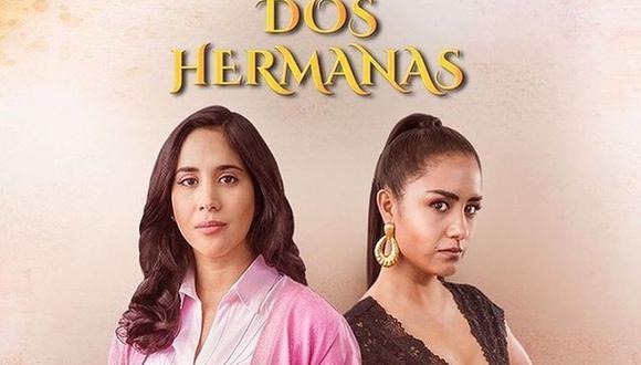 """Melissa Paredes y Mayella Lloclla son las protagonistas de la telenovela """"Dos hermanas"""". (Foto: Del Barrio Producciones)"""
