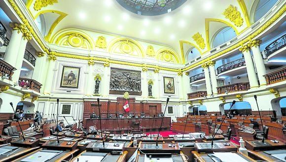 Día d. Primer consenso del Congreso se define hoy en elección. (Foto: GEC)