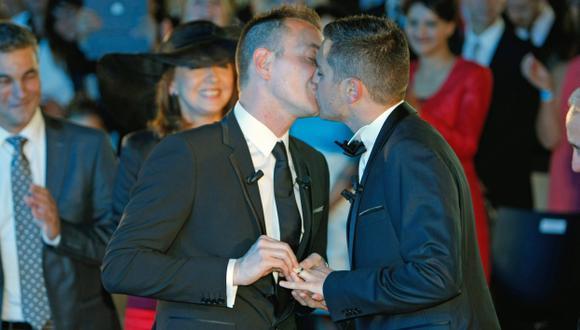 Con Nueva Jersey ya sumarían 14 estados de Estados Unidos los que permitan el matimonio gay. (AP)