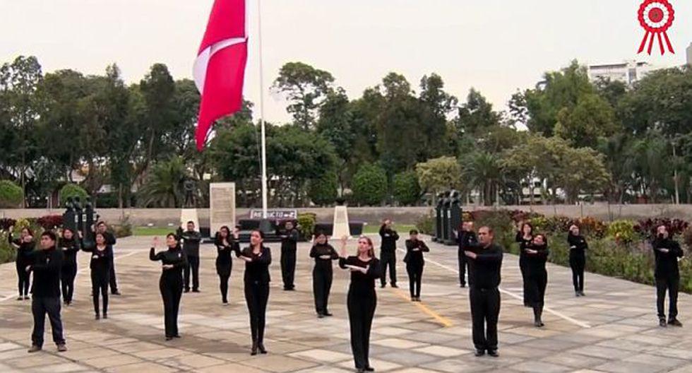 Fiestas Patrias: Mira la interpretación del Himno Nacional en lenguaje de señas. (Difusión)