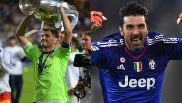 Casillas y Buffon tienen una admiración mutua. (Composición)