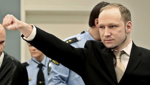 Breivik se mostró desafiante. (Reuters)