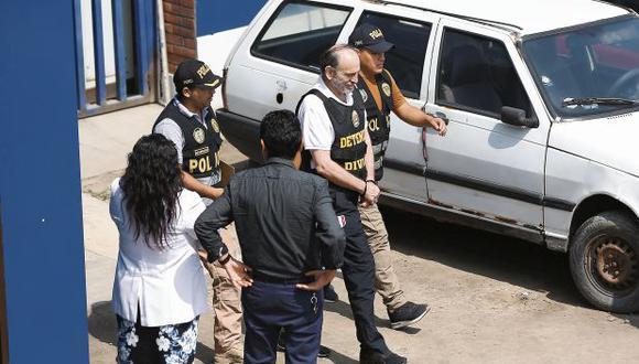 El pasado 24 de febrero el Poder Judicial aprobó y ordenó 10 días de detención preliminar contra Yehude Simon. (Foto: GEC)