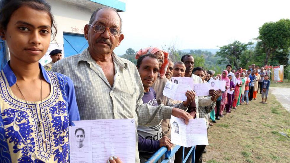 Elecciones en la India: así concluye la votación más grande del mundo. (EFE)