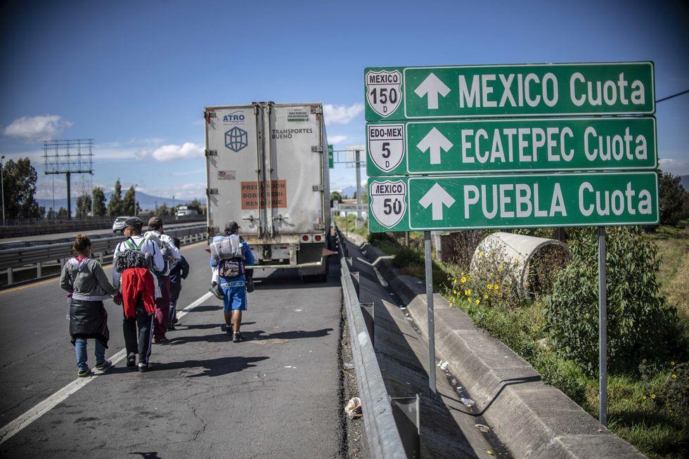 Más de 2,000 migrantes provenientes de Honduras ya están en la Ciudad de México.