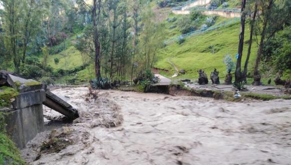El Gobierno amplían por 60 días emergencia en distrito de Pomabamba por intensas lluvias. (Foto:COEN)