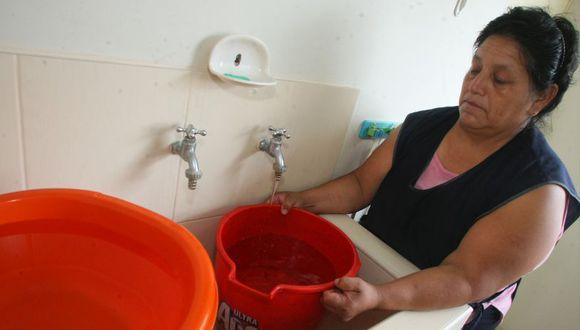 El abastecimiento de agua será por sectores y turnos. (Imagen referencial/Archivo)