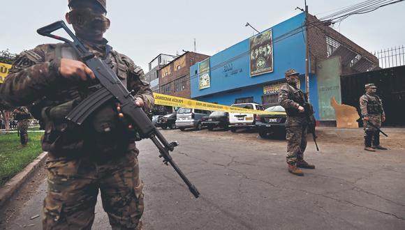 Trece personas murieron el último sábado luego de intervención policial en discoteca Thomas Restobar de Los Olivos. (Foto: GEC)