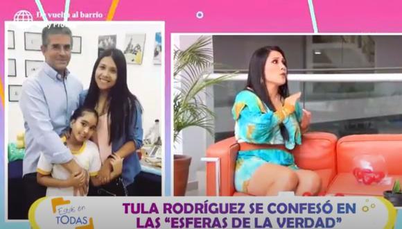 Tula Rodríguez: Javier Carmona, esposo de la conductora, falleció tras dos años postrado en cama. (Estas en Todas)
